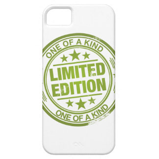 One of a kind -green rubber stamp effect- iPhone SE/5/5s case