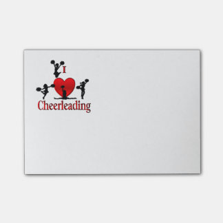 One of a Kind I Heart Cheer Leading Post-it® Notes