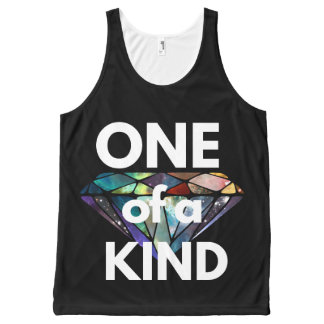 One of a Kind II All-Over Print Tank Top