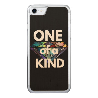 One of a Kind II Carved iPhone 7 Case