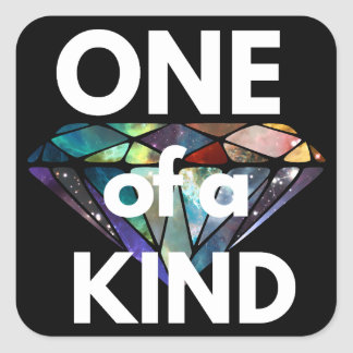 One of a Kind II Square Sticker