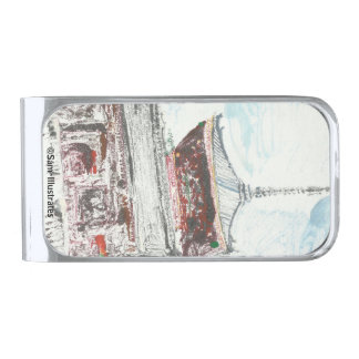 One of a Kind Kyoto Japan Temple Money Clip