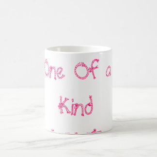 One Of a Kind LOVE Classic White Coffee Mug