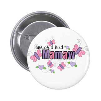 One Of A Kind Mamaw Button