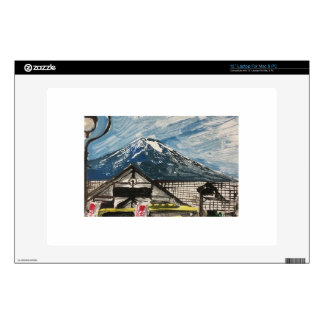One of a Kind Mount Fuji Japan Computer Skin Laptop Decal