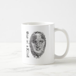 One of a Kind Classic White Coffee Mug