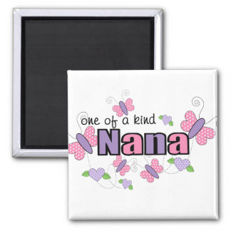 One Of A Kind Nana 2 Inch Square Magnet