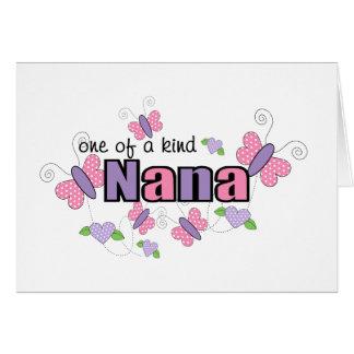 One Of A Kind Nana Greeting Card