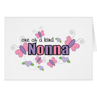 One Of A Kind Nonna Greeting Card