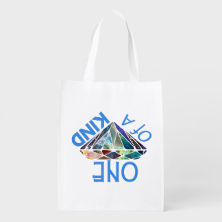 One of a Kind Reusable Grocery Bag