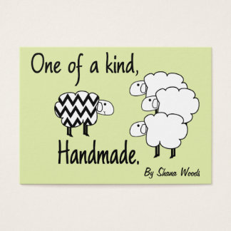 One Of A Kind Sheep Hang Tag