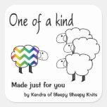 One of a Kind Sheep Sticker