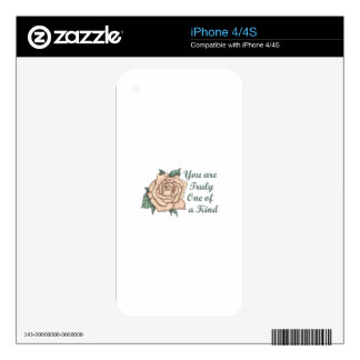 ONE OF A KIND SKIN FOR THE iPhone 4S