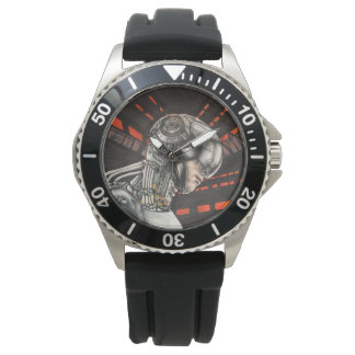 One of a Kind Virtual Reality Scifi Watch