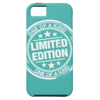 One of a kind -white rubber stamp effect- iPhone SE/5/5s case