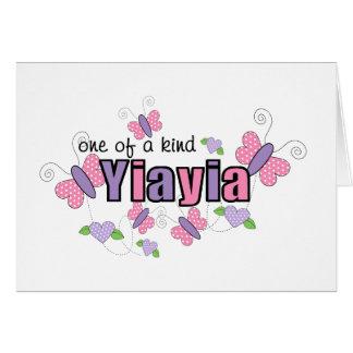 One Of A Kind YiaYia Card