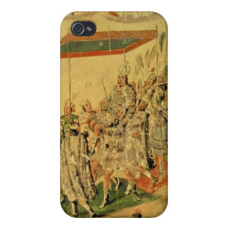 One of a pair of panels cover for iPhone 4