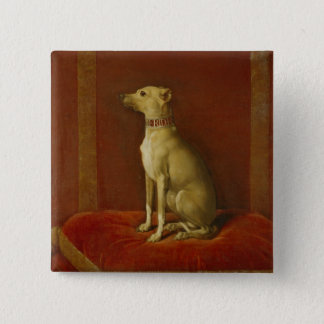One of Frederick II's Italian greyhounds Button