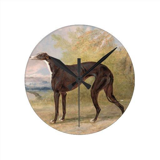 One of George Lane Fox's Winning Greyhounds: the B Wallclocks