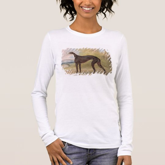 One of George Lane Fox's Winning Greyhounds: the B Long Sleeve T-Shirt