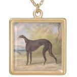 One of George Lane Fox's Winning Greyhounds: the B Custom Jewelry