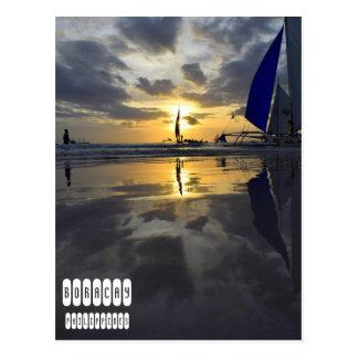 One of Kind Boracay Sunset Postcard