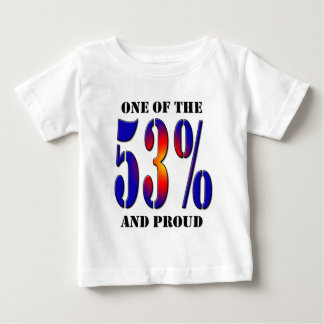 One of  the 53 Percent and Proud Taxpayer Baby T-Shirt