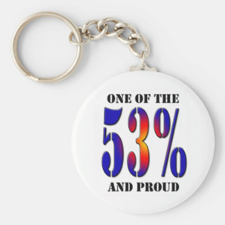 One of  the 53 Percent and Proud Taxpayer Keychain
