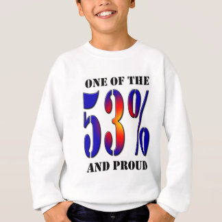 One of  the 53 Percent and Proud Taxpayer Sweatshirt