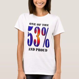 One of  the 53 Percent and Proud Taxpayer T-Shirt