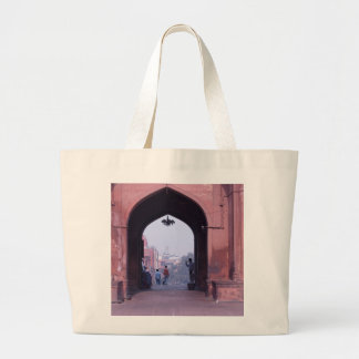 One of the doorways of Jama Masjid Canvas Bags