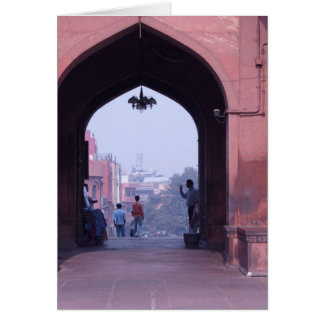 One of the doorways of Jama Masjid Cards