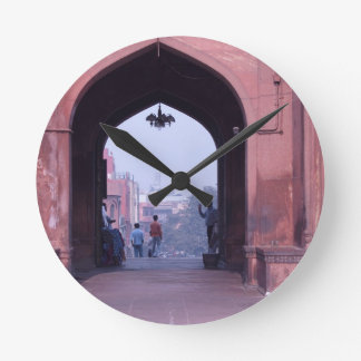 One of the doorways of Jama Masjid Round Wall Clock