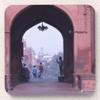 One of the doorways of Jama Masjid Drink Coasters