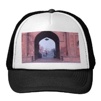One of the doorways of Jama Masjid Mesh Hats
