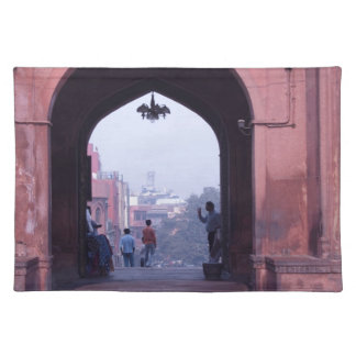 One of the doorways of Jama Masjid Place Mats