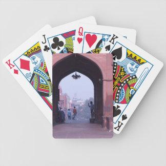 One of the doorways of Jama Masjid Poker Deck