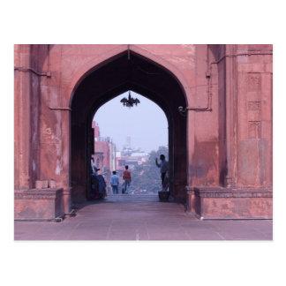 One of the doorways of Jama Masjid Postcards