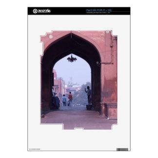 One of the doorways of Jama Masjid iPad 2 Skin