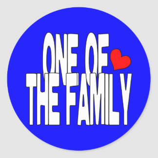 One of the Family Sticker