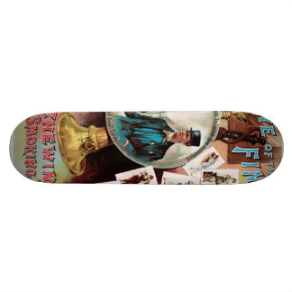 One of the Finest. Chewing and Smoking Tobacco. Skateboard Deck