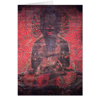 One of the Five Bodhisattvas of Strength Card