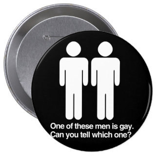 ONE OF THESE MEN IS GAY CAN YOU TELL WHICH ONE BUTTONS