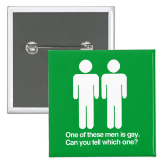 ONE OF THESE MEN IS GAY CAN YOU TELL WHICH ONE BUTTON