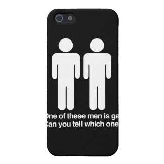 ONE OF THESE MEN IS GAY CAN YOU TELL WHICH ONE CASES FOR iPhone 5
