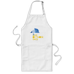 Long Apron with One of Those Days with Inside Out's Sadness design