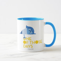 Combo Mug with One of Those Days with Inside Out's Sadness design