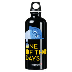 SIGG Traveller Water Bottle (0.6L) with One of Those Days with Inside Out's Sadness design