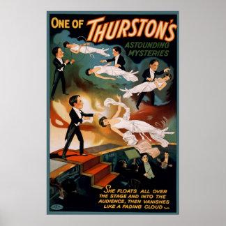 One of Thurston's astounding mysteries Poster