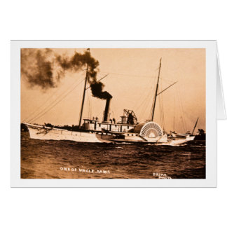 One of Uncle Sam's Louis Pesha Vintage Great Lakes Card